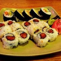 Photo taken at Oishii Japanese Restaurant & Sushi Bar by Athena A. on 6/20/2013