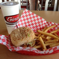 Photo taken at Gino's Burgers & Chicken by Daniel on 11/8/2012