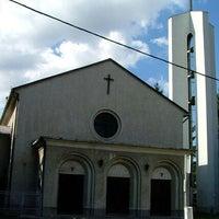 Photo taken at Szent Kereszt templom by Rita D. on 4/5/2013