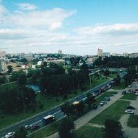 Photo taken at БЦ «Європейський» by Dasha M. on 6/2/2016