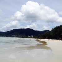 Photo taken at patong beach by Aisha R. on 9/20/2014