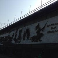 Photo taken at Stadion Siliwangi by aldi b. on 10/12/2015