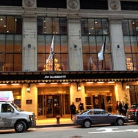 Photo taken at JW Marriott by Marilena C. on 4/13/2013