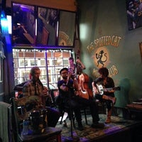 Photo taken at The Spotted Cat Music Club by Erica P. on 2/24/2014