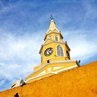Photo taken at Centro Histórico de Cartagena / Ciudad Amurallada by Ivy J. on 7/12/2013