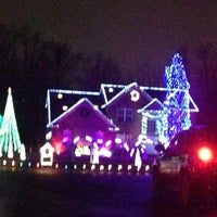 Photo taken at Our Dancing Lights by Steve M. on 12/16/2012