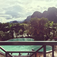 Photo taken at Vansana Hotel by Rachel P. on 7/15/2014