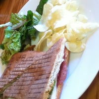 Photo taken at Sacred Grounds Cafe by June on 12/13/2012