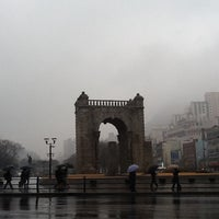Photo taken at Independence Gate by Seung-taeck L. on 1/31/2013