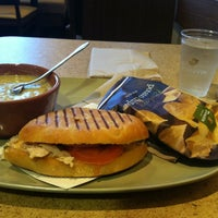 Photo taken at Panera Bread by Joan on 10/16/2012