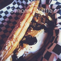 Photo taken at Butter And Zeus Waffle Sandwiches by Joan on 4/18/2013