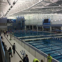 Photo taken at Greensboro Aquatic Center by Chris B. on 12/3/2016