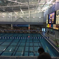 Photo taken at Greensboro Aquatic Center by Chris B. on 12/2/2016