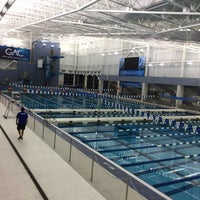 Photo taken at Greensboro Aquatic Center by Chris B. on 3/25/2017
