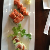 Photo taken at Hoshi Sushi & Hibachi by Gesine on 3/10/2013