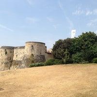 Photo taken at Château de Caen by Gero H. on 7/22/2013