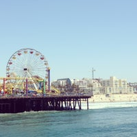 Photo taken at Santa Monica Pier by Simone S. on 5/13/2013