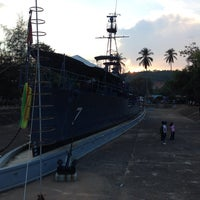 Photo taken at Royal Chumphon Ship by Scotch M. on 4/14/2014