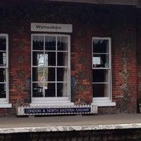 Photo taken at Wymondham Railway Station (WMD) by Alex A. on 4/22/2015