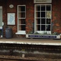 Photo taken at Wymondham Railway Station (WMD) by Alex A. on 4/22/2014