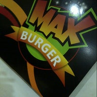 Photo taken at max burguer by Carlos G. on 2/4/2013