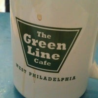 Photo taken at Green Line on Locust by Juliet F. on 9/19/2012