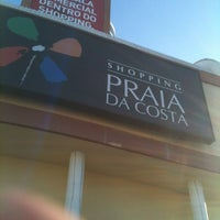 Photo taken at Shopping Praia da Costa by Dudu on 12/8/2012