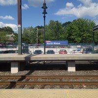 Photo taken at SEPTA North Wales Station by Sherman X. on 6/5/2014