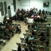 Photo taken at Igreja Presbiteriana de Diniz by Jorge V. on 5/26/2013