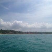 Photo taken at Playa Blanca by Diana on 11/15/2012