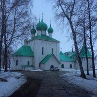 Photo taken at Храм преподобного Сергия Радонежского (Куликово поле) by Lena K. on 3/7/2016