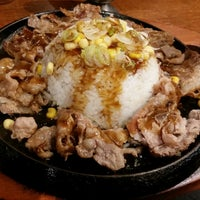 Photo taken at The Sizzlin' Pepper Steak by Anne G. on 11/7/2014