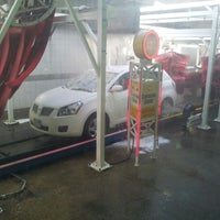Photo taken at Mister Car Wash & Express Lube by Raphael M. on 12/6/2012