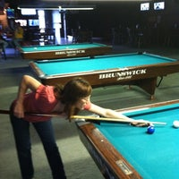 Photo taken at Gold Crown Billiards Bar & Grill by Marshall O. on 10/3/2012