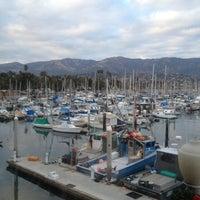 Photo taken at Santa Barbara Harbor by Suzie L. on 1/2/2013