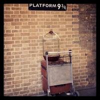 Photo taken at Platform 9¾ by Thiago G. on 2/11/2013