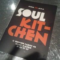 Photo taken at Soul Kitchen by Alex R. on 10/26/2012