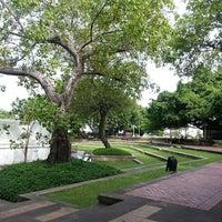 Photo taken at Santichai Prakan Park by Orathai P. on 6/21/2013