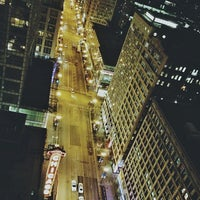Photo taken at ROOF on theWit by Kelly on 3/12/2013