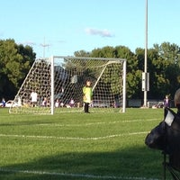 Photo taken at Coon Rapids Soccer Complex by Colleen E. on 9/12/2013