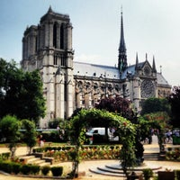 Photo taken at Cathedral of Notre Dame de Paris by Thomas R. on 7/13/2013