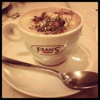 Photo taken at Fran's Café by Tainá P. on 7/28/2013