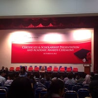 Photo taken at INTI-IU Multi Purpose Hall (MPH) by Ibrahim N. on 10/10/2012