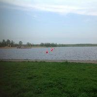 Photo taken at Пляж «Северный» by David B. on 5/18/2013