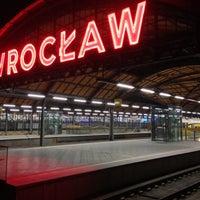 Снимок сделан в Wrocław Główny пользователем Pawel Z. 12/2/2012