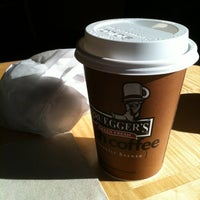 Photo taken at Bruegger's Bagel Bakery by Pablo C. on 1/24/2013