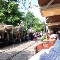 Photo taken at Bercy Village by Giuseppe M. on 6/27/2013