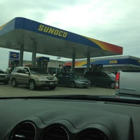 Photo taken at Sunoco by Carmen A. on 9/21/2013