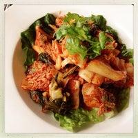 Photo taken at Wild Ginger Pan-Asian Vegan Cafe by Kate T. on 5/8/2013