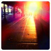 Photo taken at MTA Subway - Myrtle/Wyckoff Ave (L/M) by Kate T. on 9/25/2012